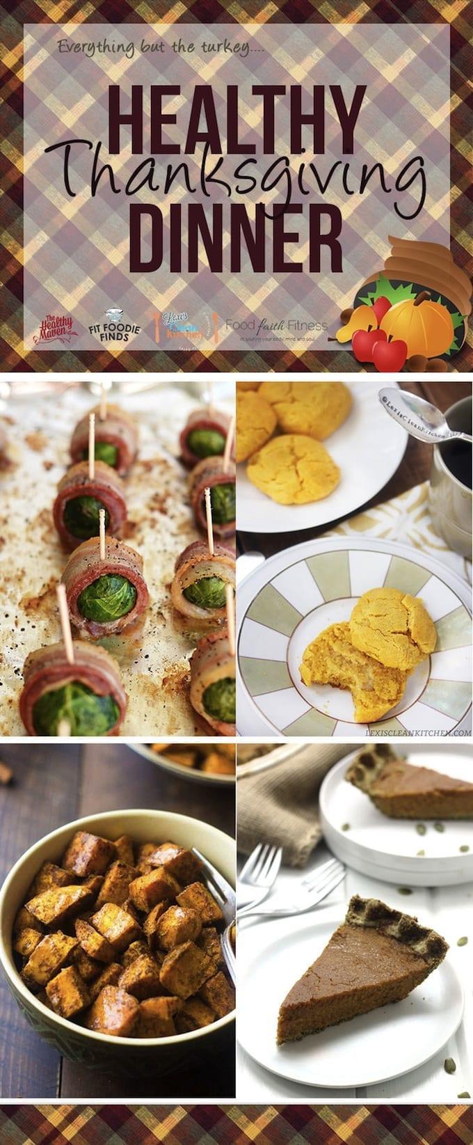 Healthy Thanksgiving Dinner  Paleo Pumpkin Pie in a Pumpkin Seed Crust A Healthy