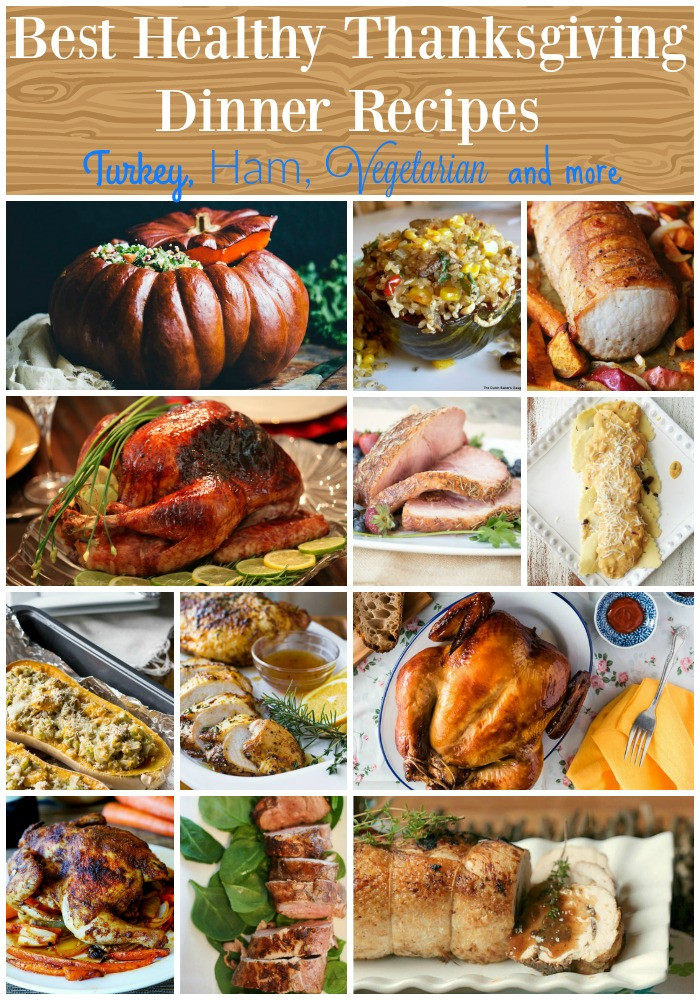 Healthy Thanksgiving Dinner  The Best Healthy Thanksgiving Dinner Recipes Food Done Light