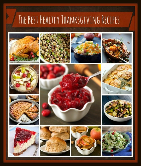 Healthy Thanksgiving Dinner  The Best Healthy Thanksgiving Recipes Texanerin Baking