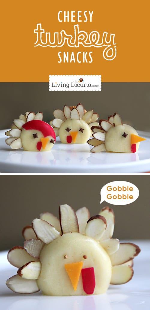 Healthy Thanksgiving Snacks  turkey treats and craft ideas