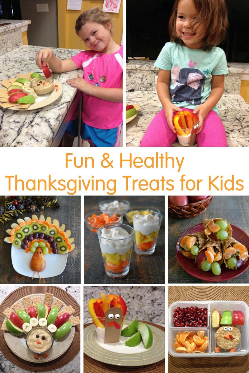 Healthy Thanksgiving Treats  Fun & Healthy Thanksgiving Treats for Kids