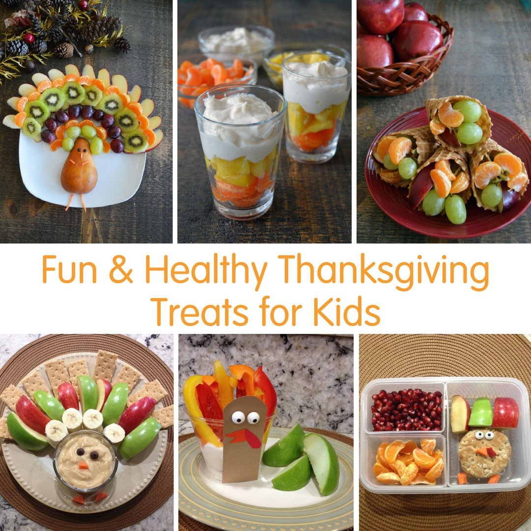 Healthy Thanksgiving Treats  Fun & Healthy Thanksgiving Treats for Kids square