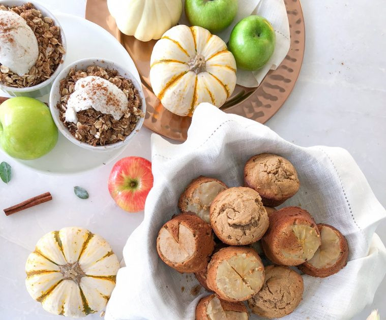 Healthy Thanksgiving Treats  Healthy Thanksgiving Desserts Cupcakes Crisps and Pie