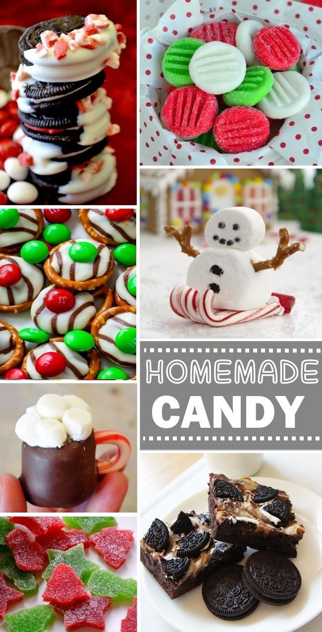 Homemade Christmas Candy  HOMEMADE CANDY TREATS Kids Activities