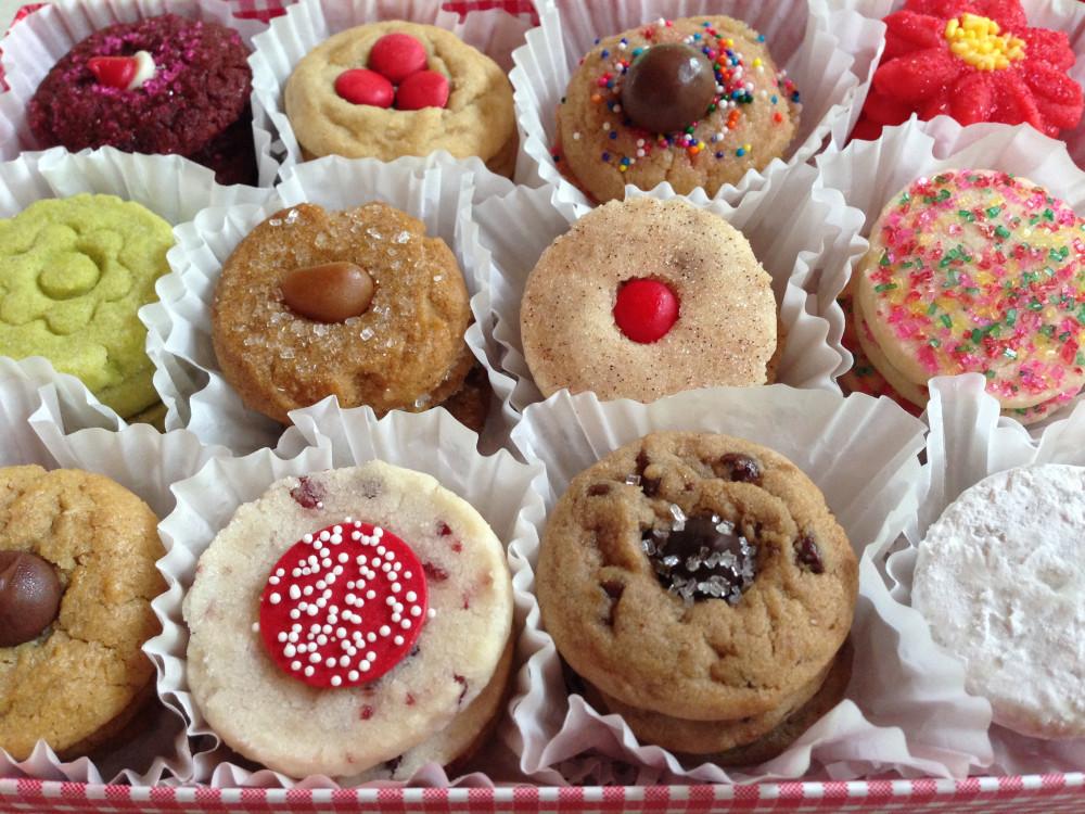 Homemade Christmas Cookies For Sale  Homemade Cookie Sampler Gift Box 5 Dozen