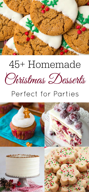 Homemade Christmas Desserts  45 Homemade Christmas Desserts Retro Housewife Goes Green