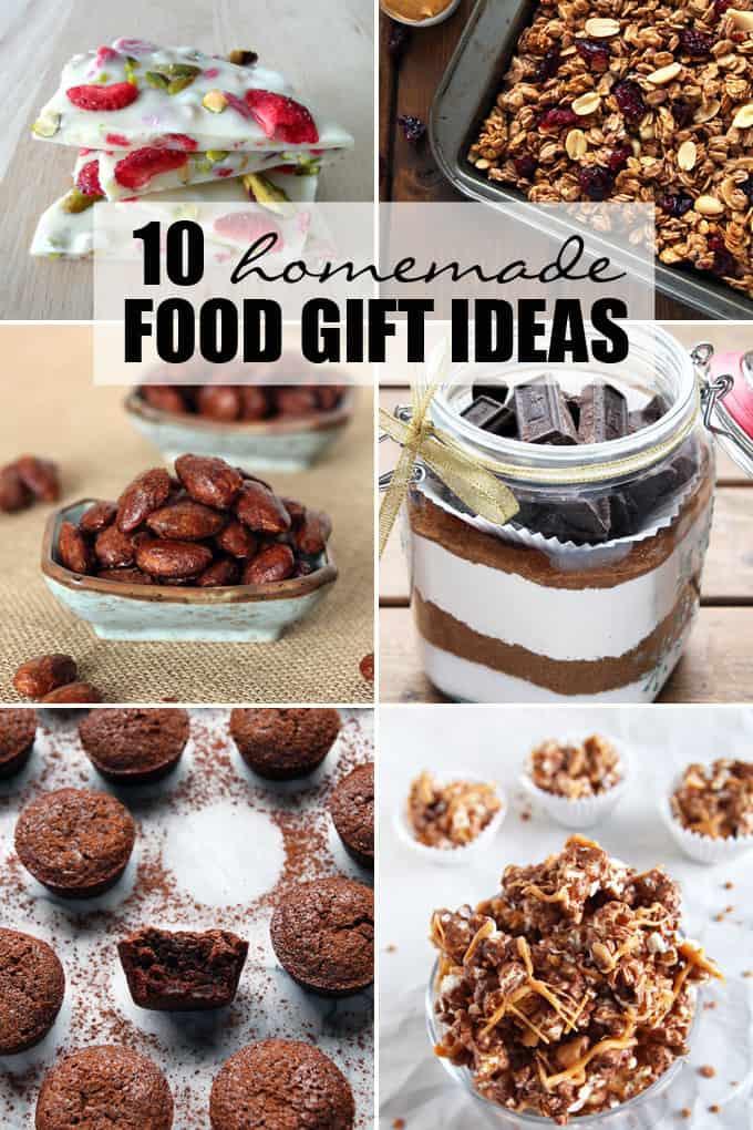 Homemade Christmas Food Gifts  10 Homemade Food Gift Ideas – LeelaLicious