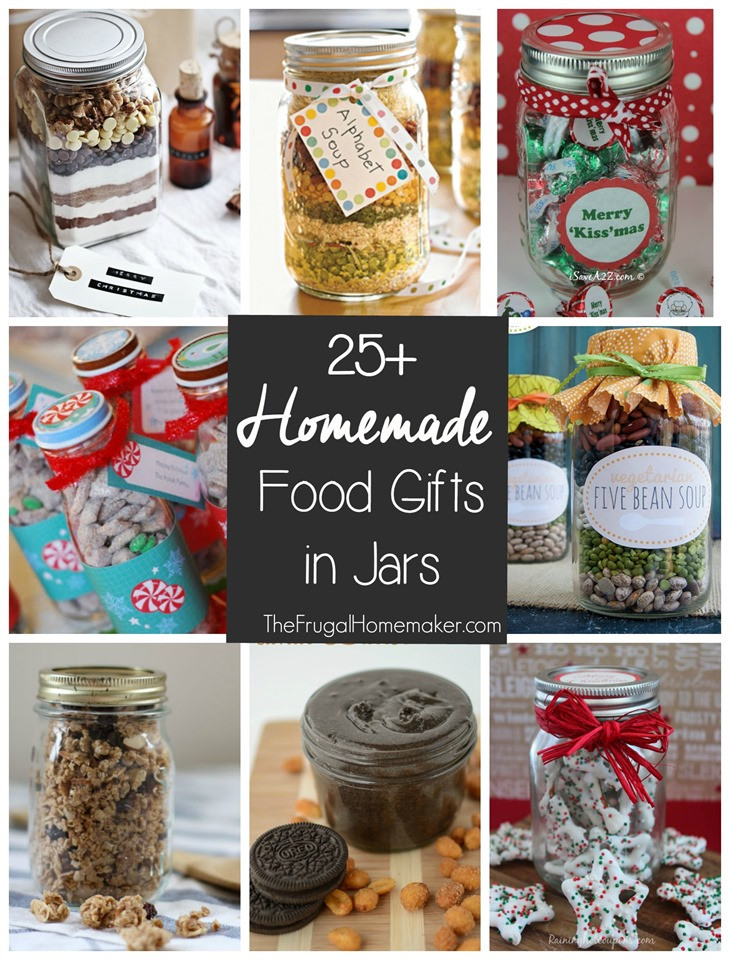 Homemade Christmas Food Gifts  25 Homemade Food Gifts in a Jar 31 days to take the