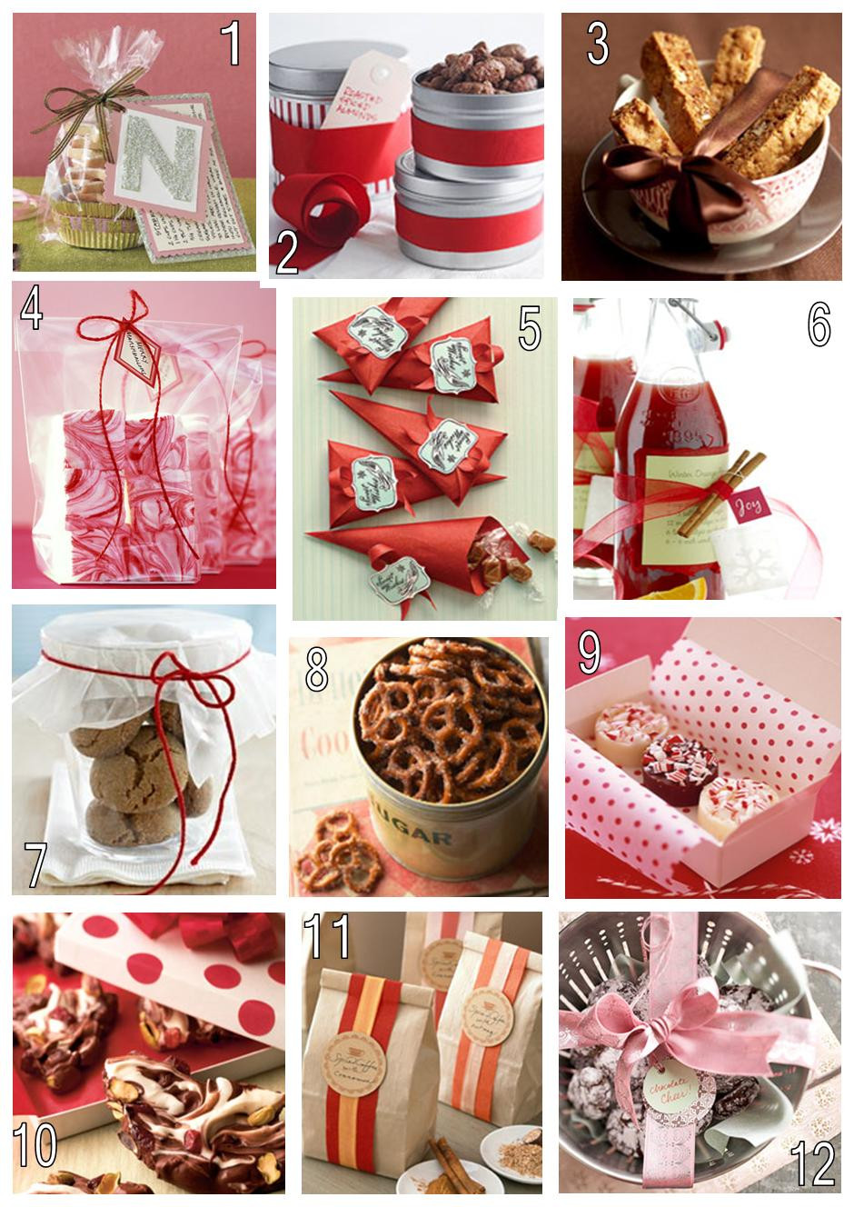 Homemade Christmas Food Gifts  Sweeter Than Sweet Dessert Tables Saving Money for the 12