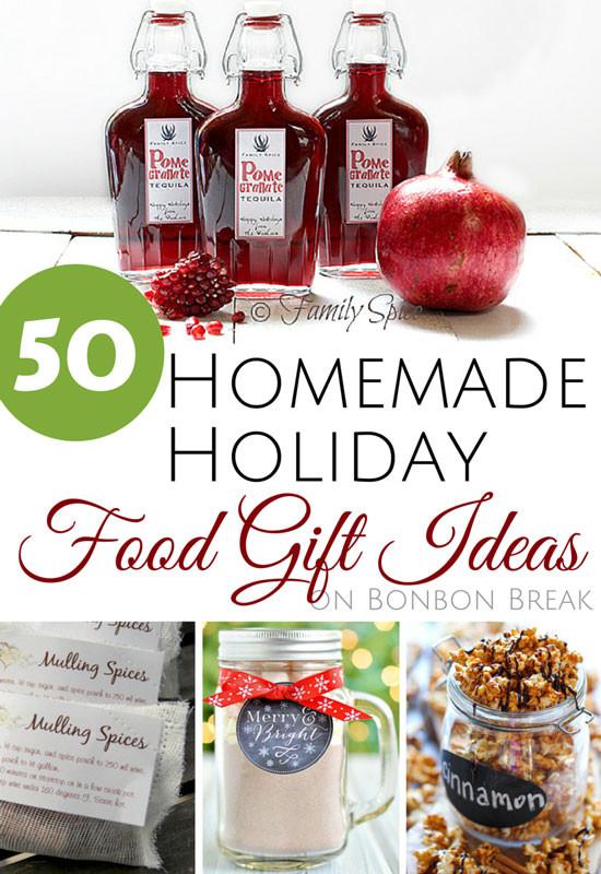 Homemade Christmas Food Gifts  50 Homemade Holiday Food Gift Ideas — BonBon Break