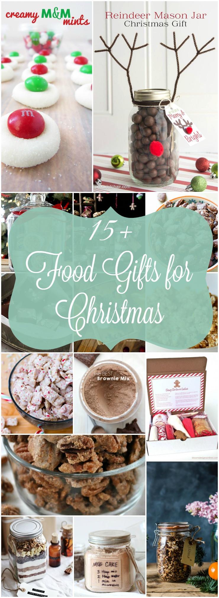 Homemade Christmas Food Gifts  Homemade Food Gifts for Christmas