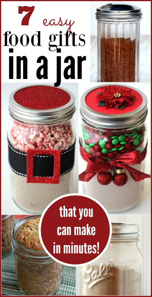 Homemade Christmas Food Gifts  7 Quick Food Gifts in a Jar Coupon Closet