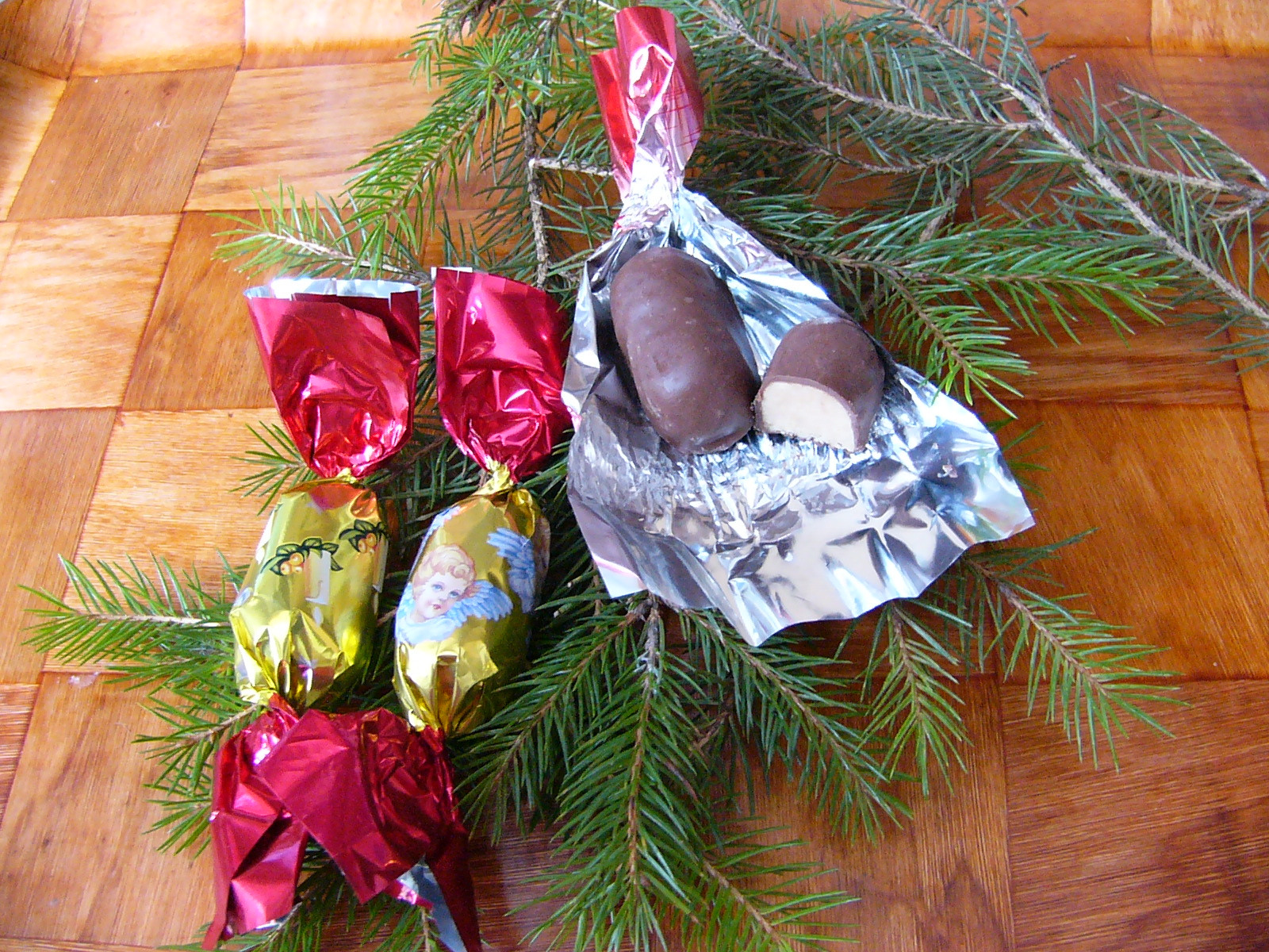 Hungarian Christmas Candy  100 Years in America Reflections from underneath the