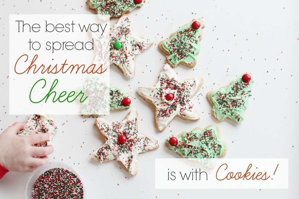 I Sure Do Like Those Christmas Cookies  We sure do like those Christmas cookies · The Girl in the