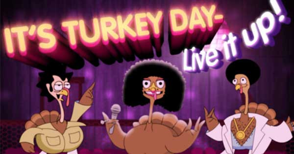 """I Will Survive Thanksgiving Turkey Song  """"I Will Survive Song Parody"""" eCard"""