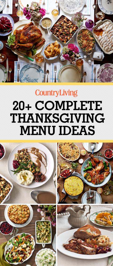 Idea For Thanksgiving Dinner  28 Thanksgiving Menu Ideas Thanksgiving Dinner Menu Recipes