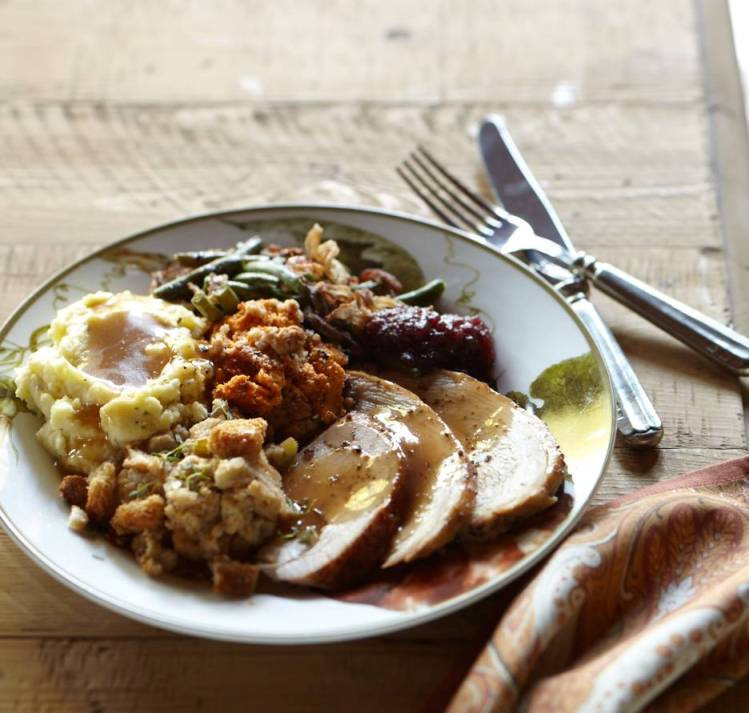 Idea For Thanksgiving Dinner  Entertaining Idea Traditional Thanksgiving Dinner