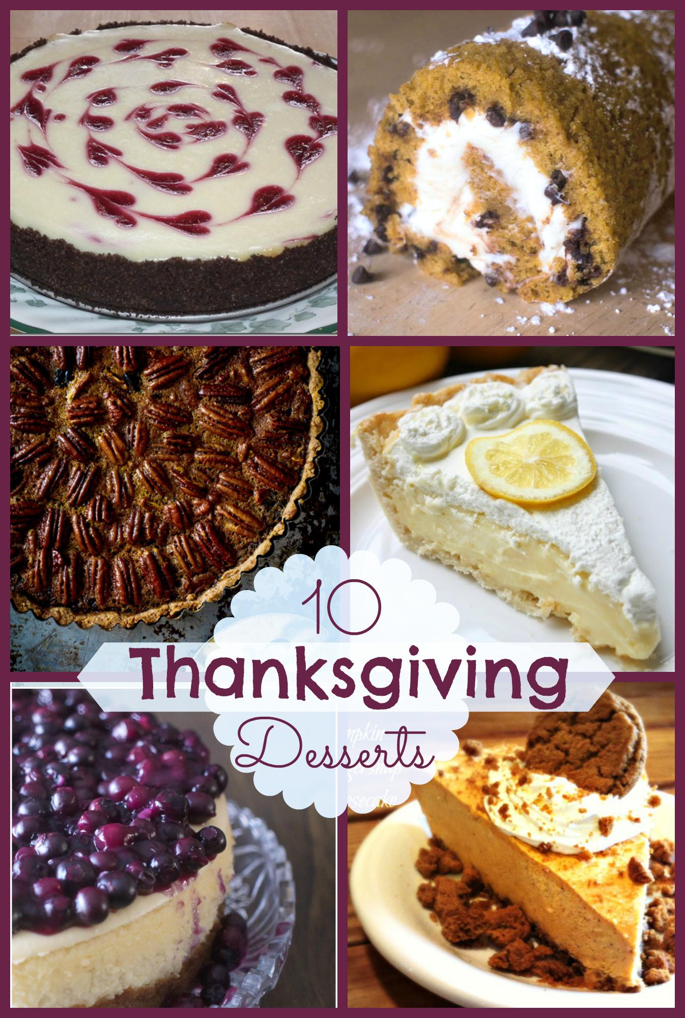 Ideas For Thanksgiving Desserts  10 Fabulous Thanksgiving Desserts