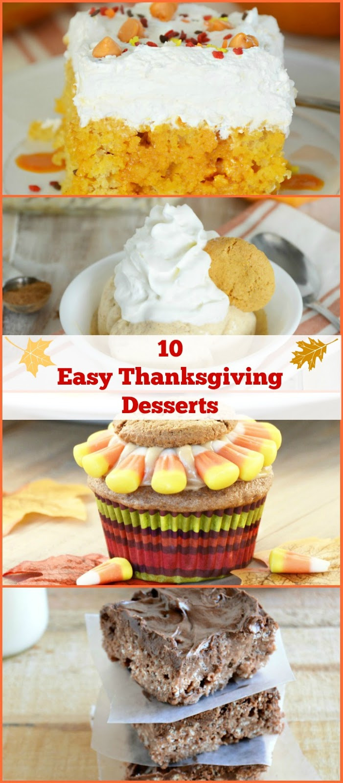Ideas For Thanksgiving Desserts  10 Easy Thanksgiving Dessert Ideas Meatloaf and Melodrama
