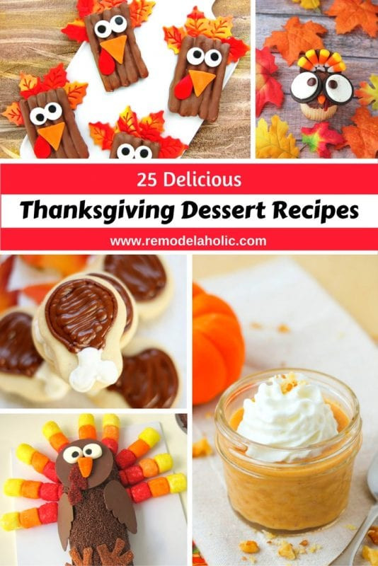 Ideas For Thanksgiving Desserts  Remodelaholic