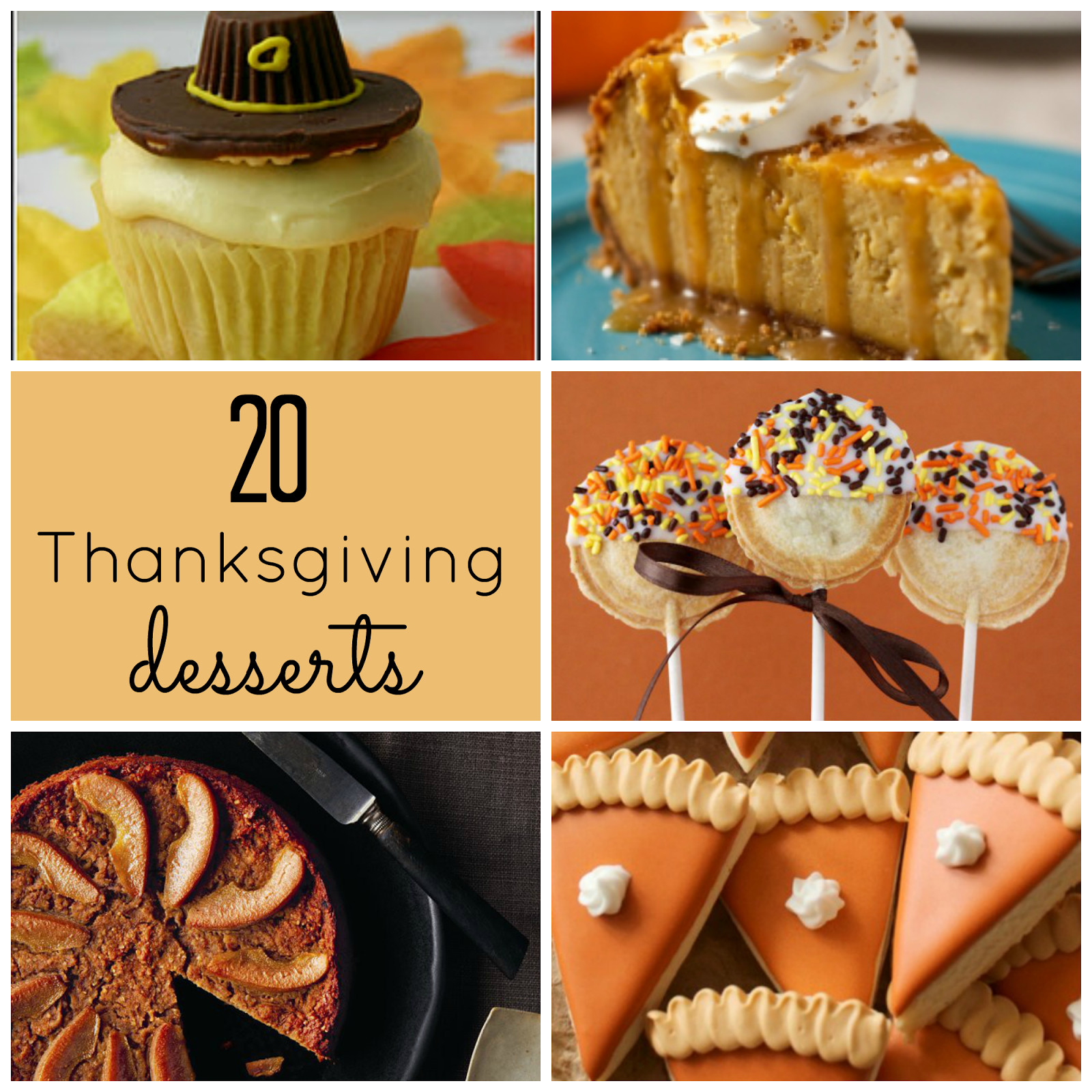 Ideas For Thanksgiving Desserts  The Upstairs Crafter Good Ideas Thanksgiving Desserts