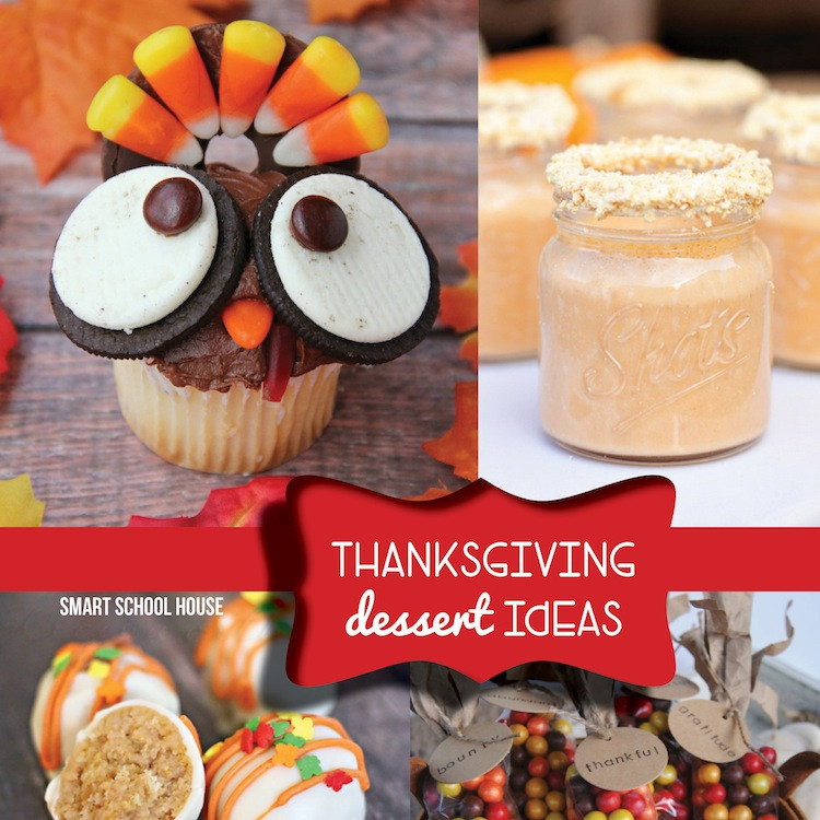 Ideas For Thanksgiving Desserts  Thanksgiving Dessert Ideas