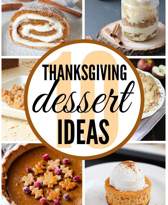 Ideas For Thanksgiving Desserts  Thanksgiving Dessert Ideas Classy Clutter