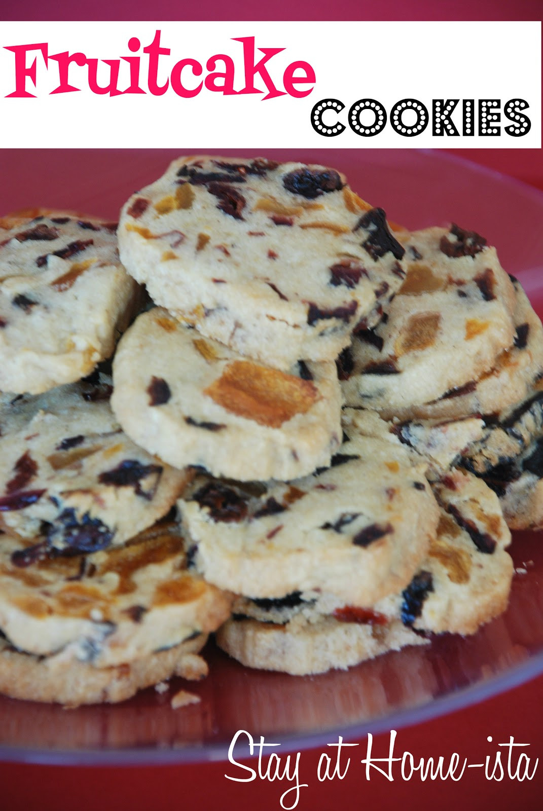 Ina Garten Christmas Cookies  Stay at Home ista Fruitcake Cookies