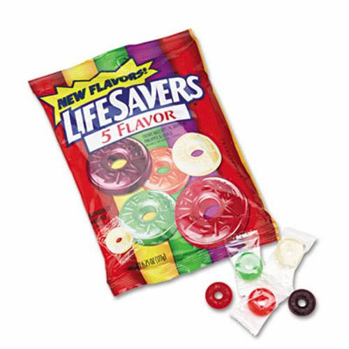 Individually Wrapped Christmas Candy  Lifesavers Hard Candy Five Classic Flavors Individually