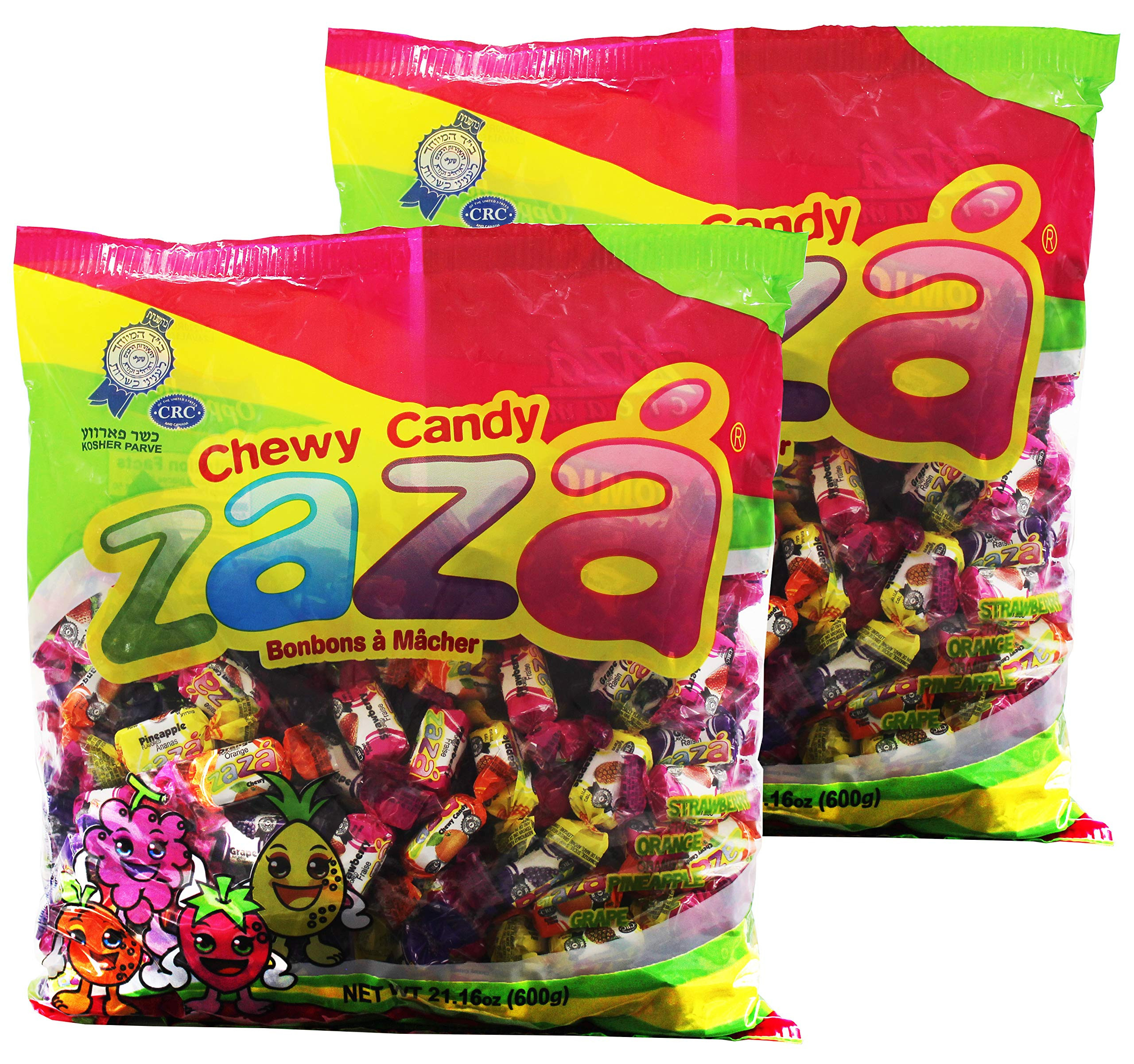 Individually Wrapped Christmas Candy  Amazon Zaza Tribala Assorted Filled Chewy Kosher