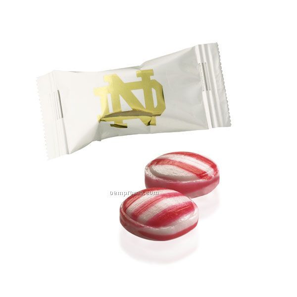 Individually Wrapped Christmas Candy  Individually Wrapped Red Striped Peppermint Flavor Burst