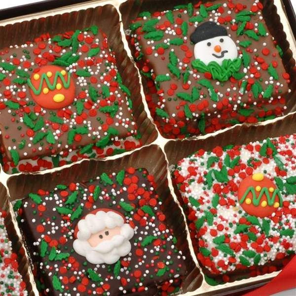 Individually Wrapped Christmas Candy  Christmas Belgian Chocolate Graham Crackers Individually