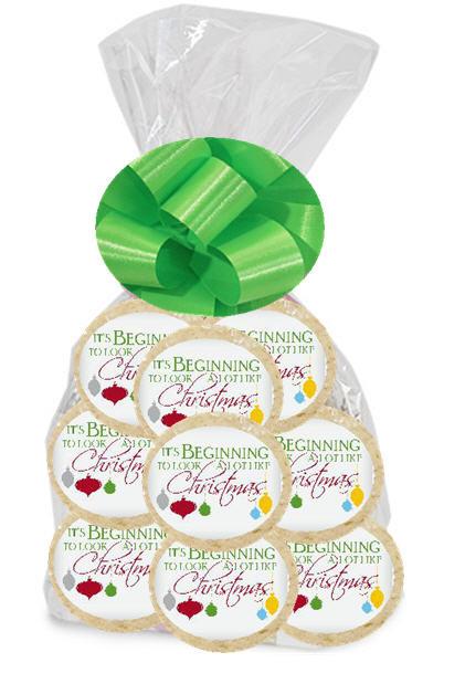 Individually Wrapped Christmas Cookies  Beginning to Look like Christmas 12pk Freshly Baked