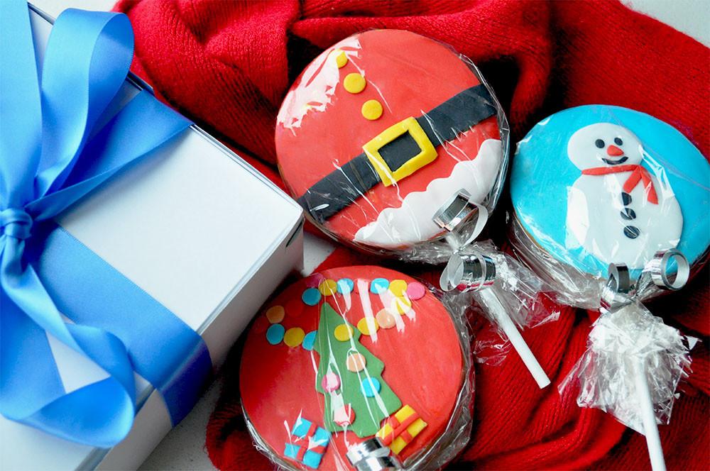 Individually Wrapped Christmas Cookies  Cookies Kildare Treats