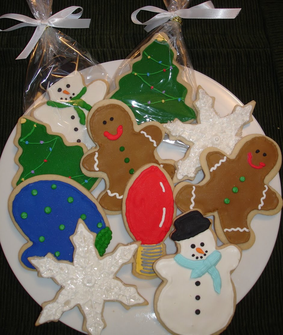 Individually Wrapped Christmas Cookies  Cake Art by Lani