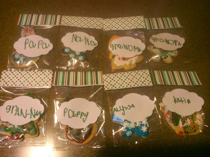 Individually Wrapped Christmas Cookies  17 Best images about Cookies on Pinterest