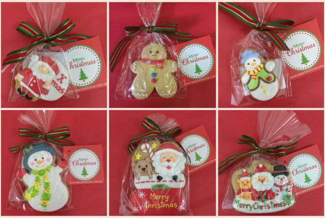 Individually Wrapped Christmas Cookies  Baked with love