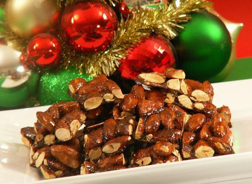 Italian Christmas Candy  Torrone of Almonds