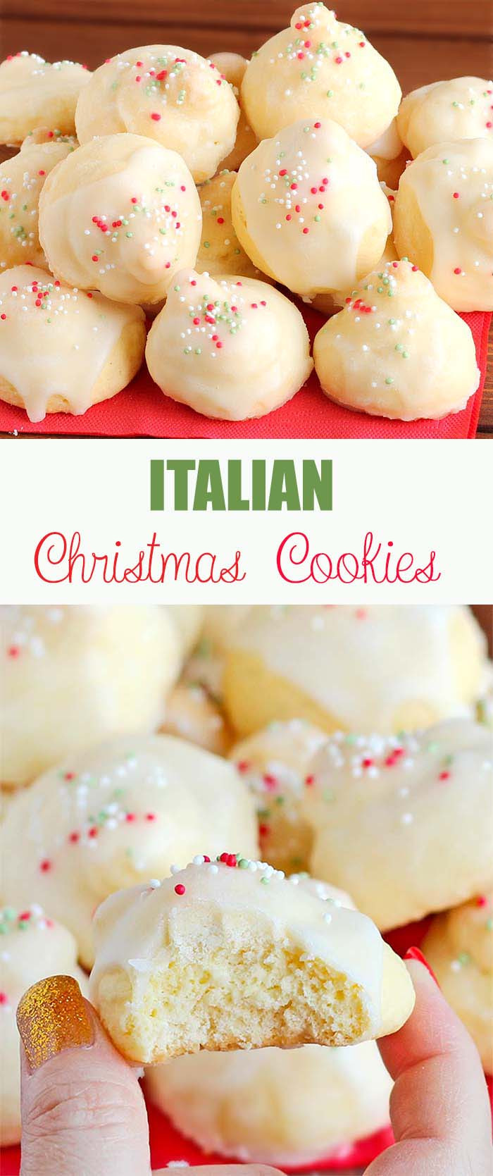 Italian Christmas Cookies Recipes  Italian Christmas Cookies Cakescottage