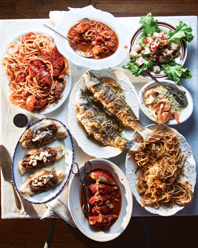 Italian Christmas Dinner  Menu A Feast of the Seven Fishes for Christmas Eve