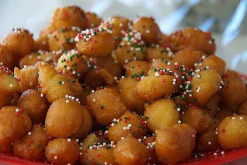 Italian Christmas Recipes  Recipe for Italian Christmas Struffoli Paris Perfect