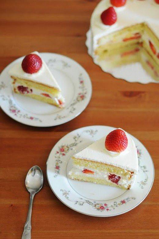 Japan Christmas Cake Recipe  Japanese Christmas Cake Recipe