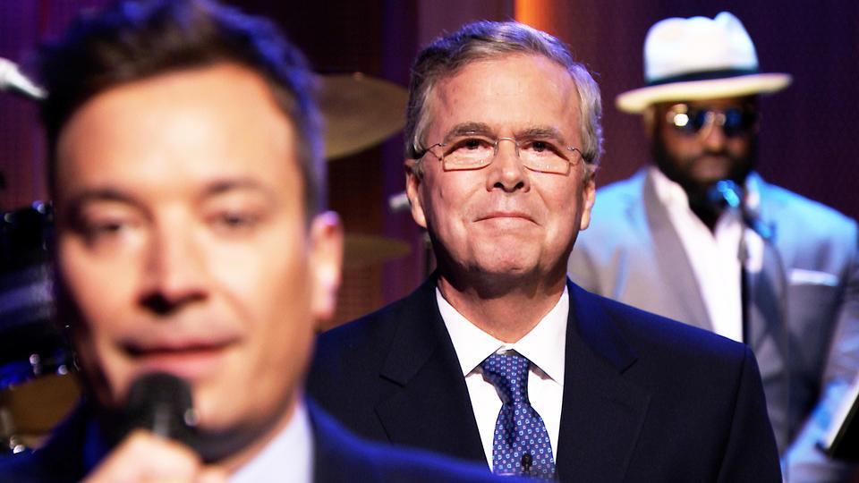 Jimmy Fallon Jeb Bush Guacamole  Jeb Bush Gives Paleo His Vote Paleo Plan