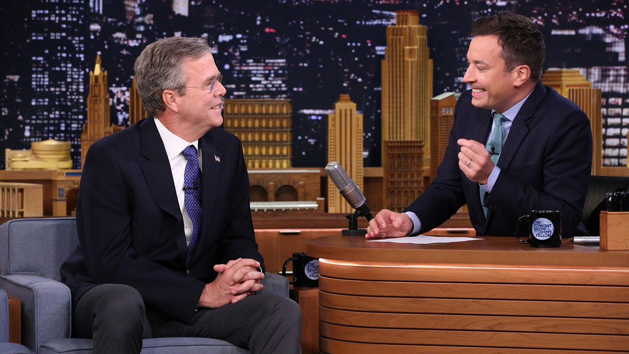 Jimmy Fallon Jeb Bush Guacamole  Jeb Bush Discusses His Presidential Family municating