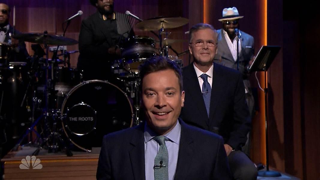 Jimmy Fallon Jeb Bush Guacamole  Jeb Bush Slow Jams the News on Tonight With Jimmy Fallon