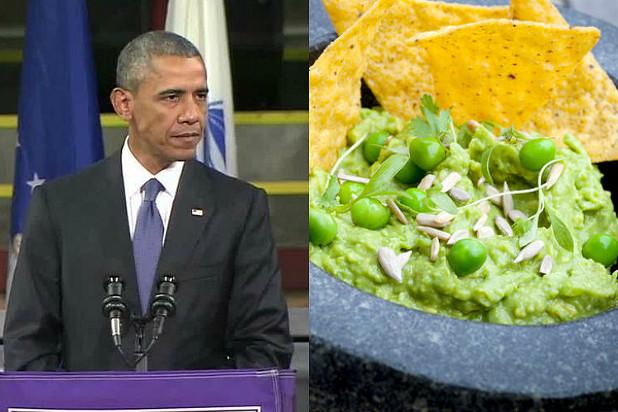 Jimmy Fallon Jeb Bush Guacamole  Obama Blasted for Joining Jeb Bush in Green Pea Guacamole