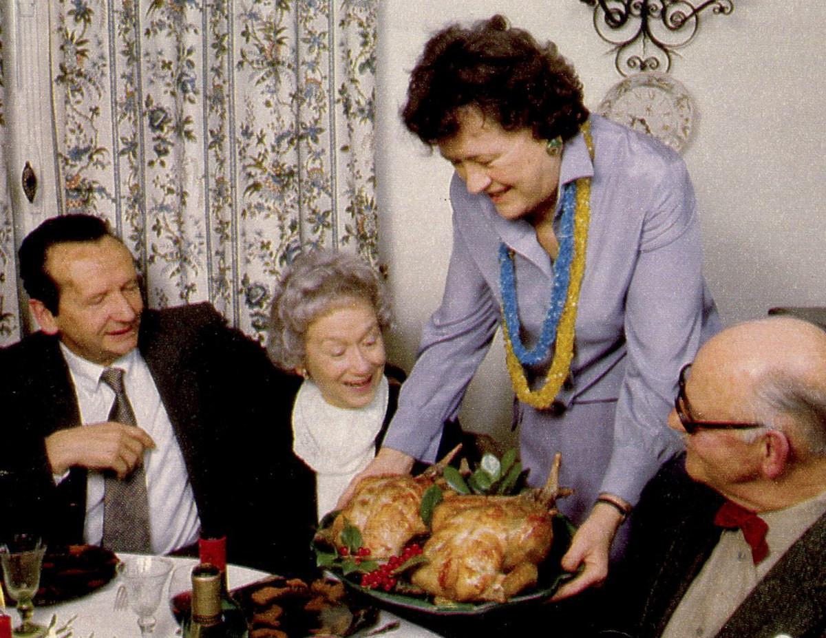 Julia Child Thanksgiving Turkey  Talking Turkey Thanksgiving Dinner Energy Use and Carbon