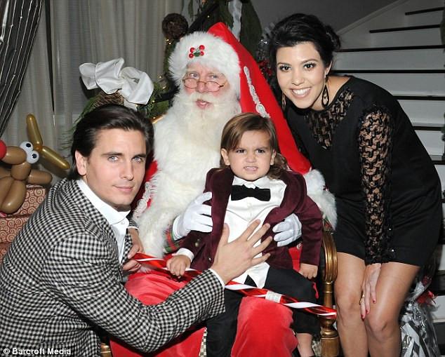 Kent Candy Christmas Divorce  Kim Kardashian s a visit from Santa at her glamorous