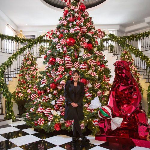 Kent Candy Christmas Divorce  House Goals Kris Jenner s Christmas Decorations Harper