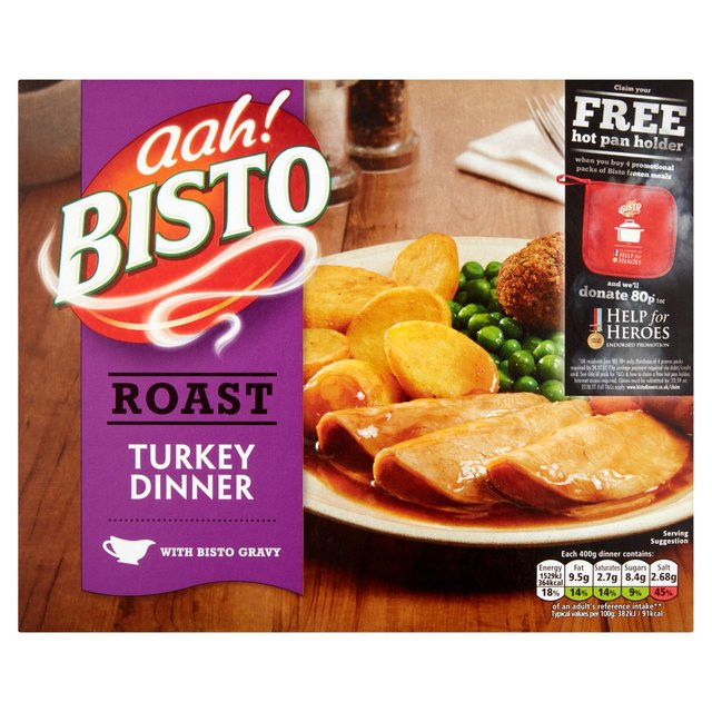Krogers Thanksgiving Dinner 2019  Morrisons Bisto Turkey Dinner Ready Meal 400g Product